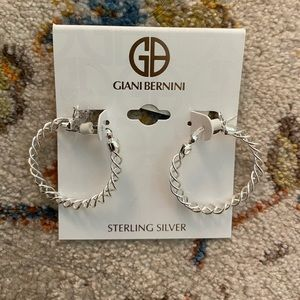 Giani Bernini Sterling Silver Hoop Earrings
